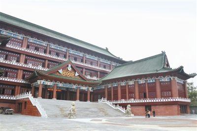 南昌市图书馆古味十足 预计12月底前开放