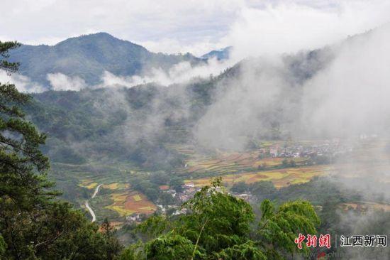 省景德镇市浮梁县瑶里国家森林公园及花千谷国家森林体验重点建设基地